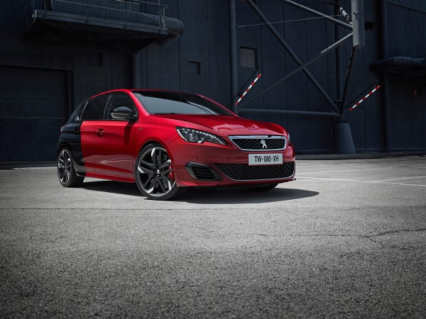 Peugeot 308 GTi - 2015 - cover