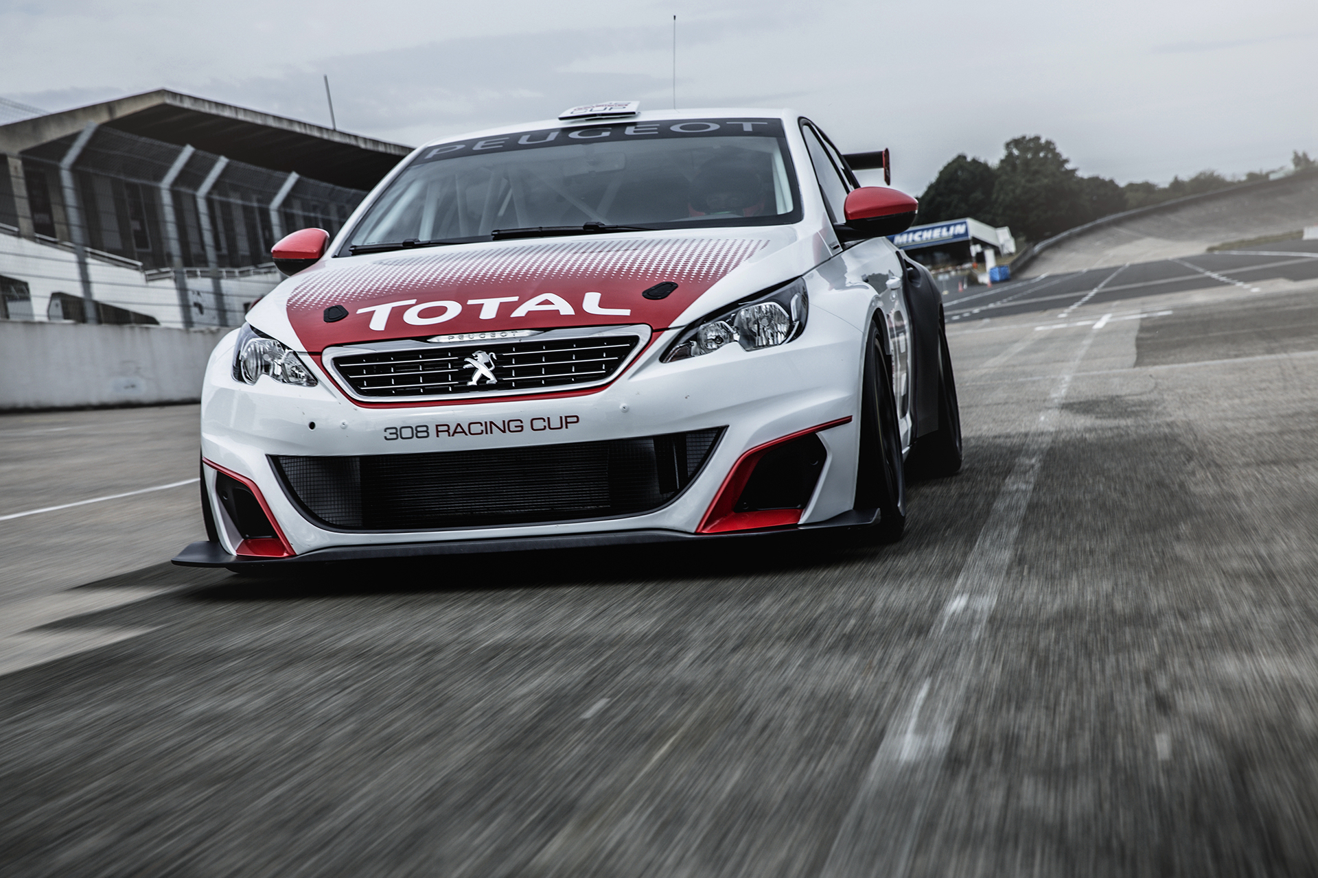 Peugeot 308 Racing Cup - 2015 - avant / front