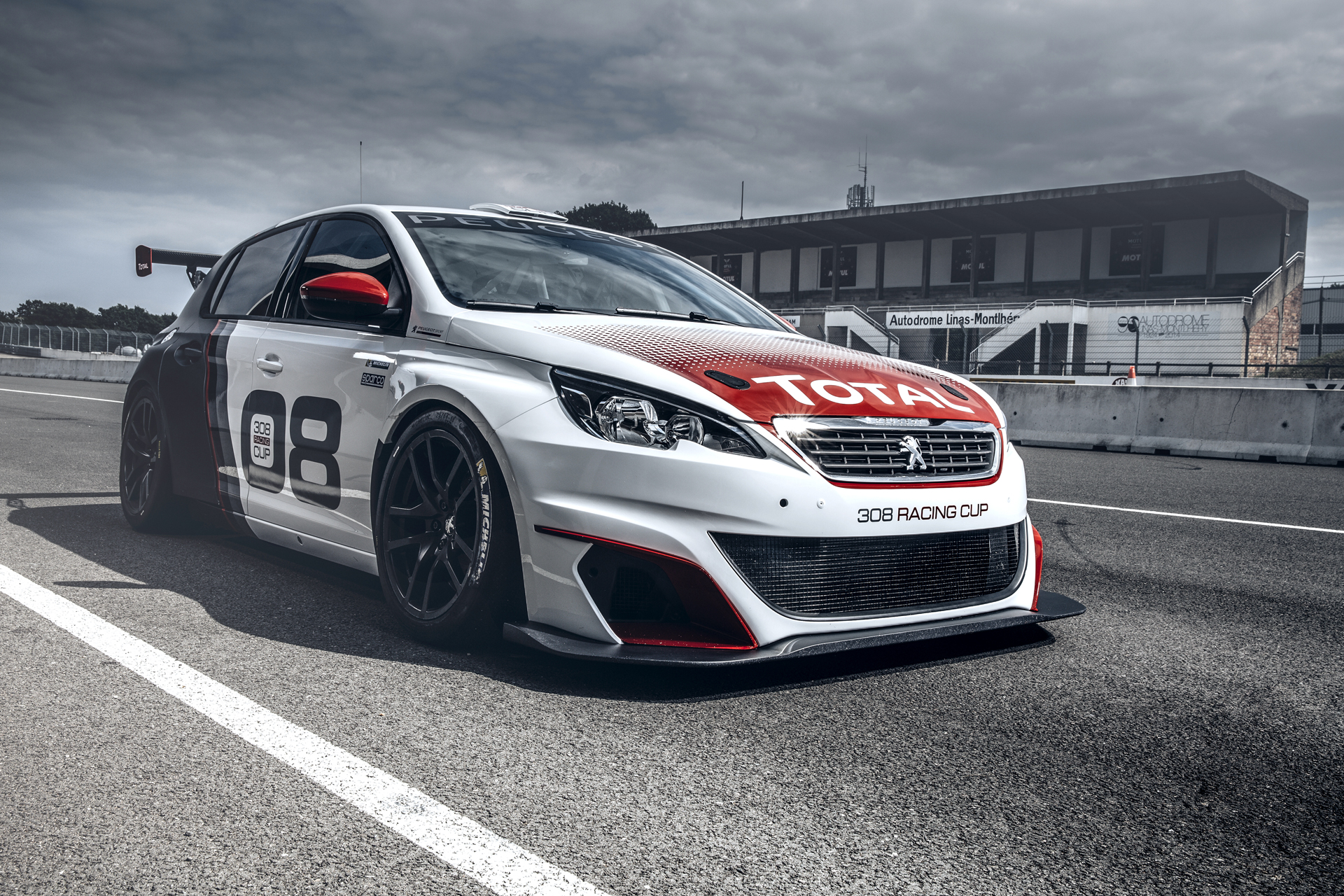 Peugeot 308 Racing Cup - 2015 - profil avant / front side-face
