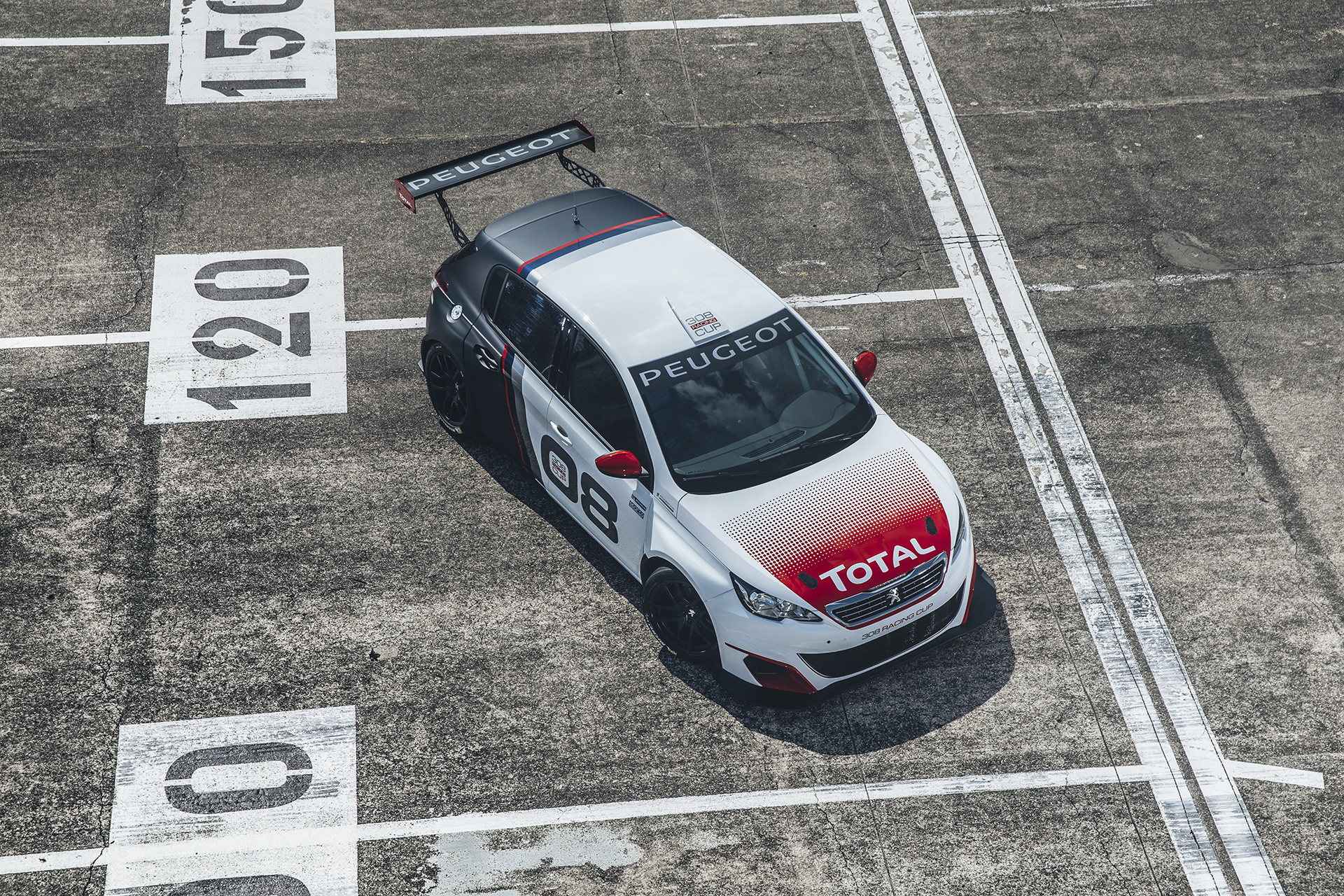 Peugeot 308 Racing Cup - 2015 - toit / top