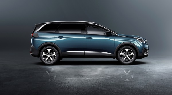 Peugeot 5008 - 2016 - profil / side-face