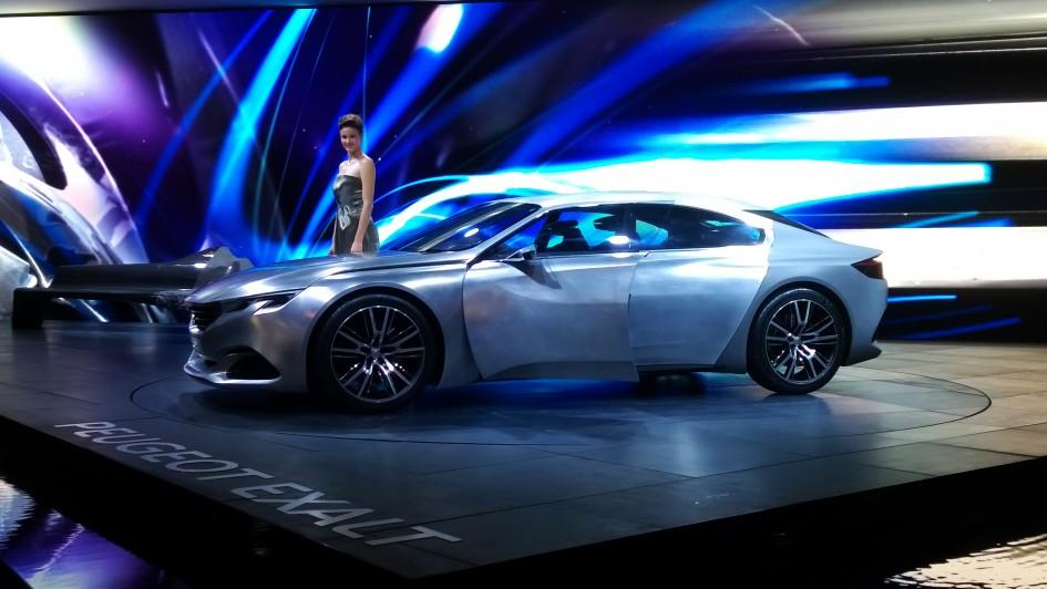 Peugeot Exalt - Paris 2014 - DESIGNMOTEUR