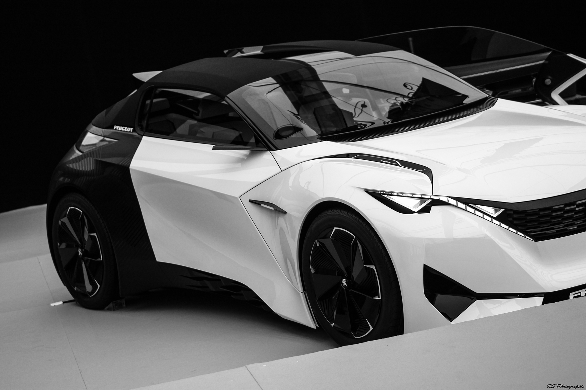 Peugeot Fractal - Exposition Concept cars 2016 - Arnaud Demasier RS Photographie