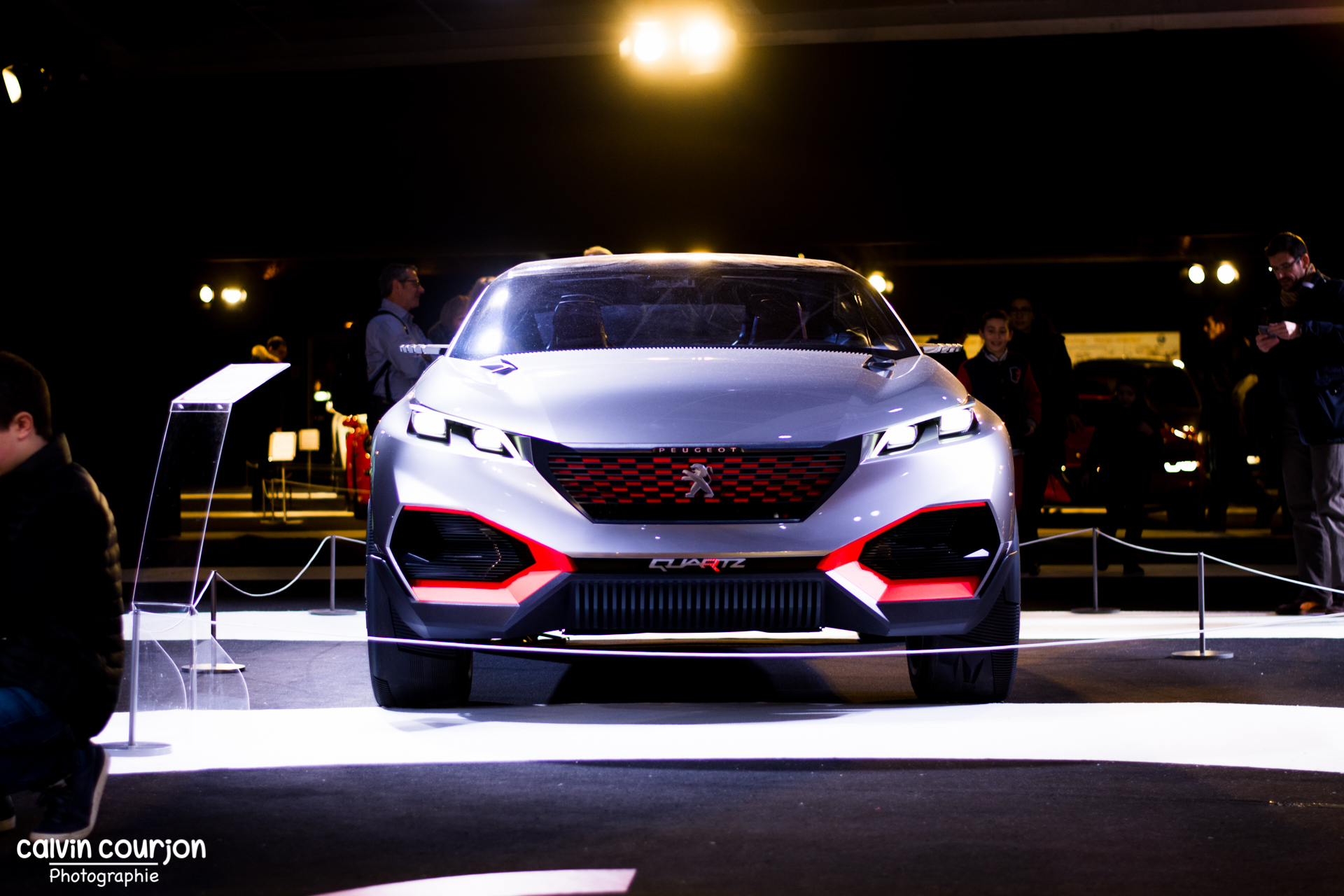 Peugeot Quartz - FAI 2015 - Paris - Calvin Courjon Photographie