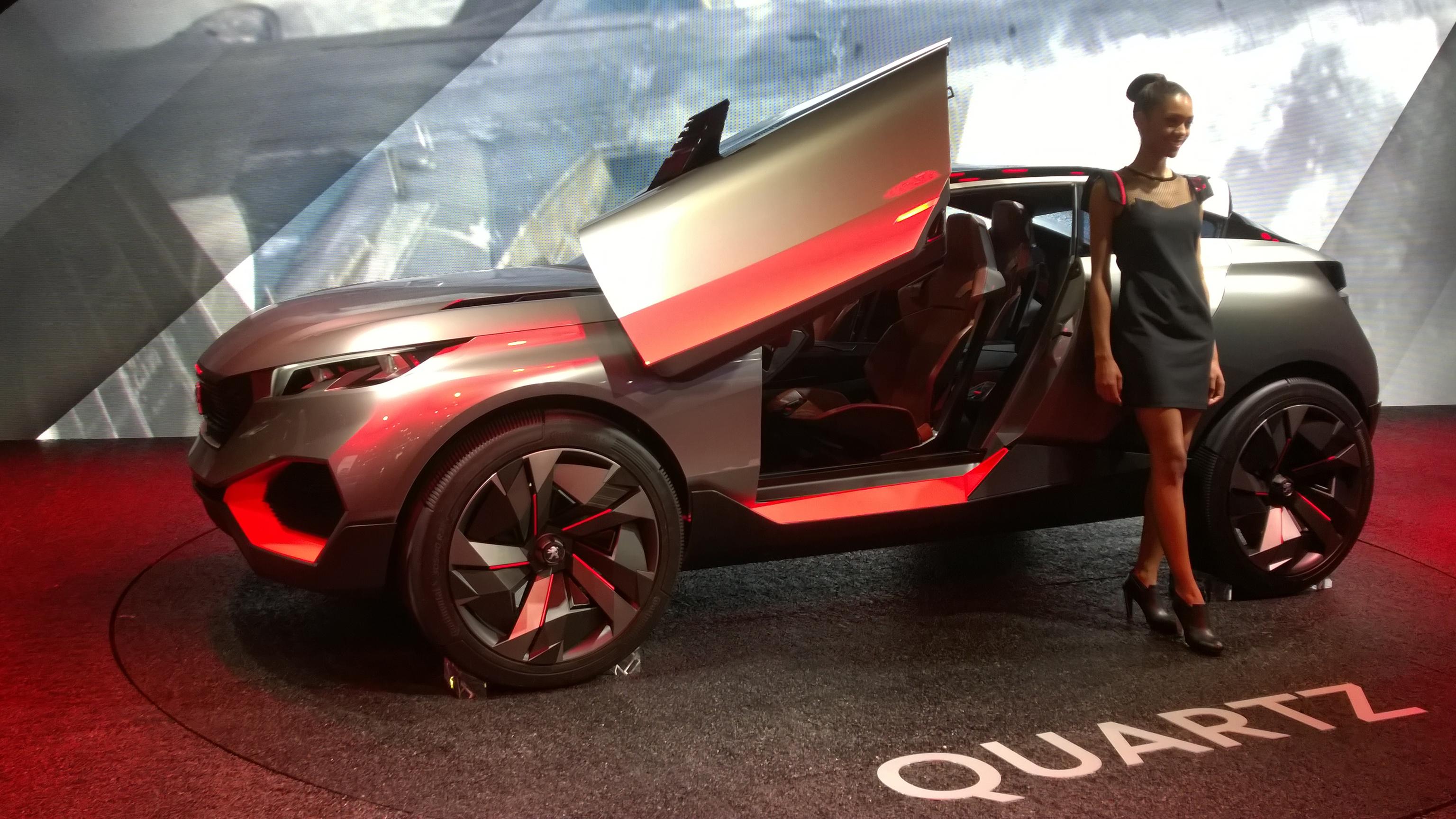 Peugeot Quartz - Paris 2014 - DESIGNMOTEUR