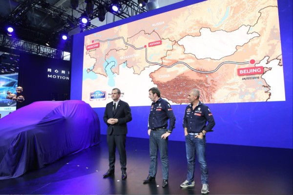 Silk Way Rally - Team Peugeut 2016 - photo Press Conference