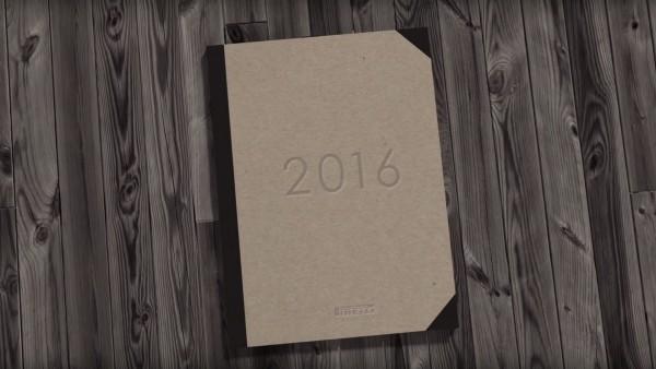 Pirelli 2016 Calendar - cover