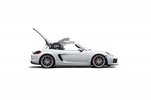 Porsche 2016 Boxster Spyder - cover