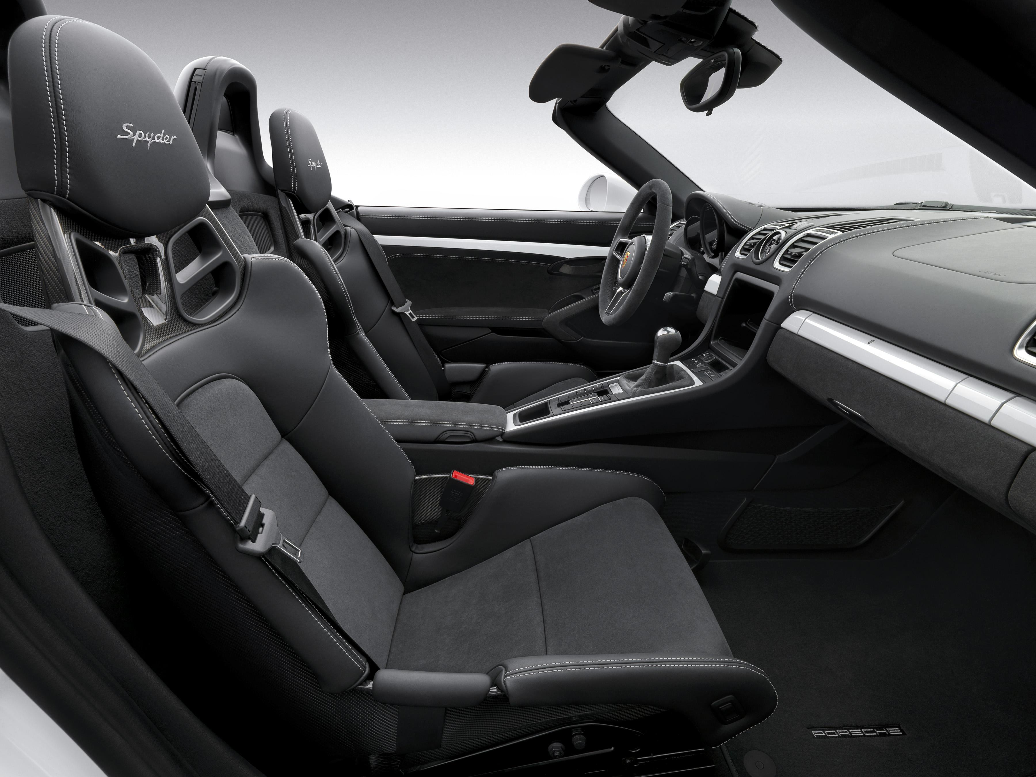 Porsche 2016 Boxster Spyder - intérieur / interior