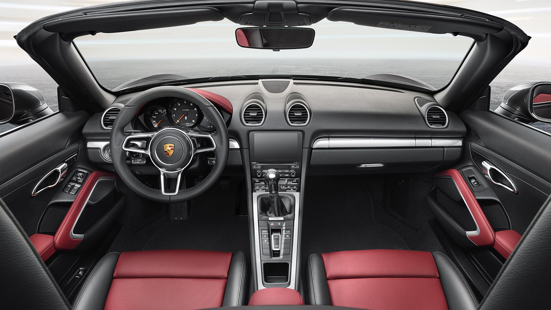 Porsche 718 Boxster - 2016 - intérieur / interior