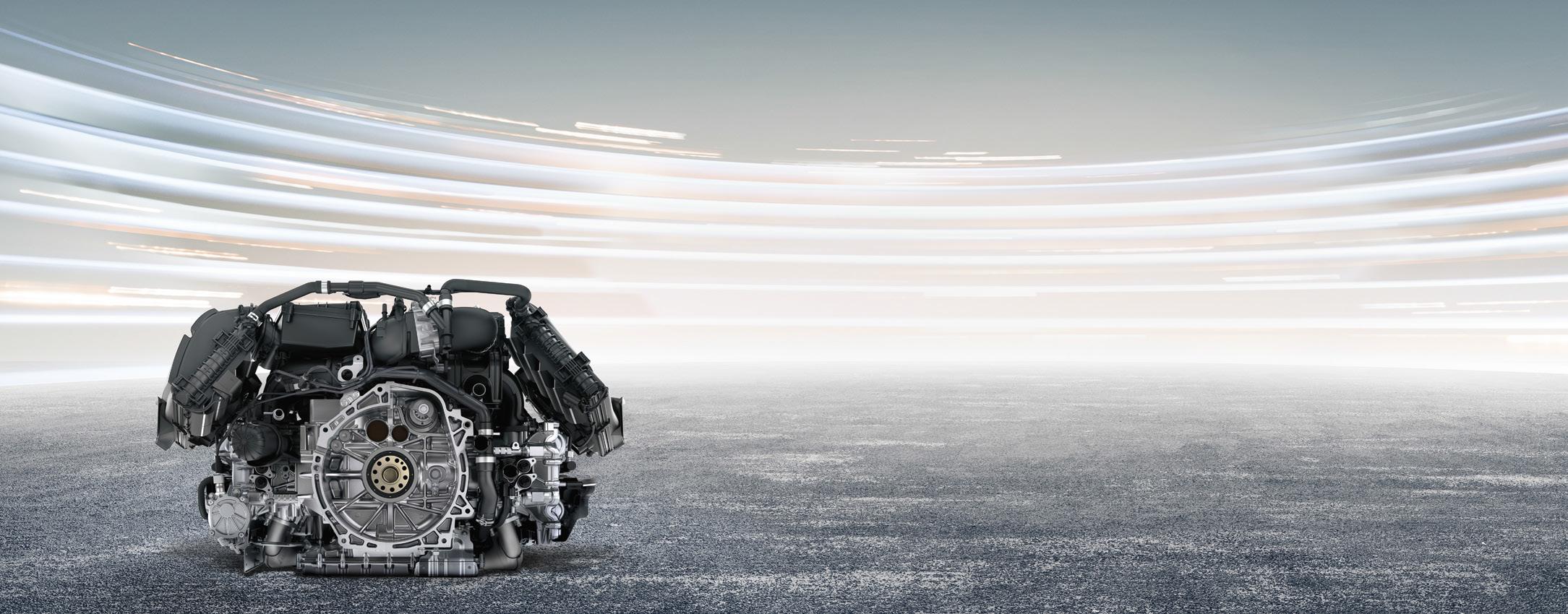 Porsche 718 Boxster - 2016 - moteur / engine