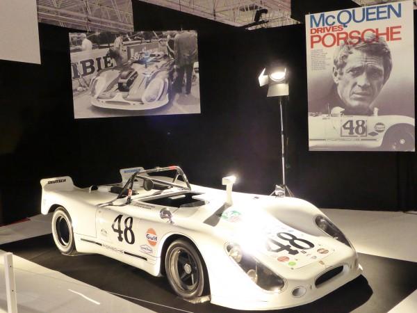Porsche 908 Sebring - Camera LM - 1970 - Le Mans - Mondial Auto 2016 - photo DESIGNMOTEUR