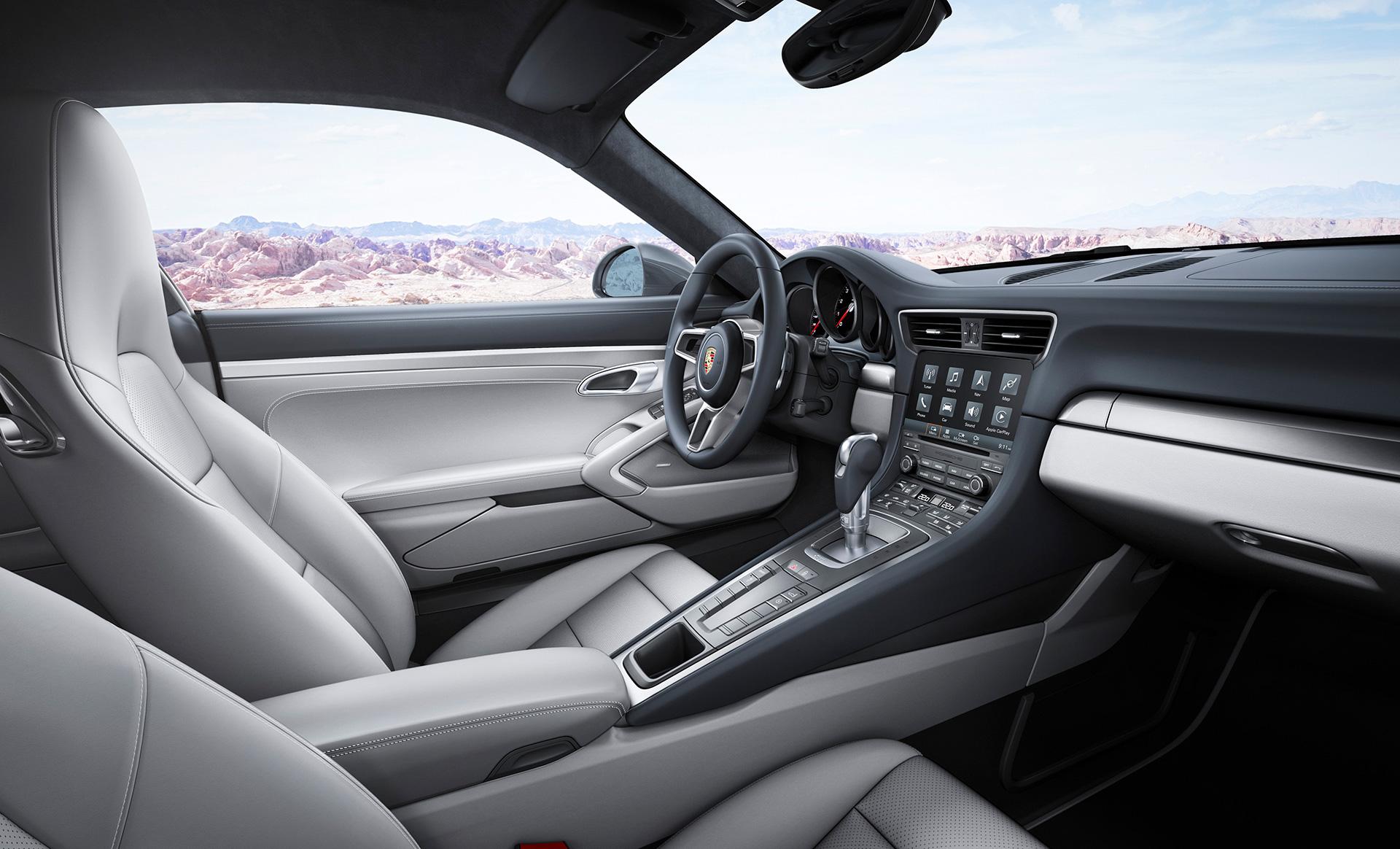 Porsche 911 (Type 991) Carrera - intérieur / interior