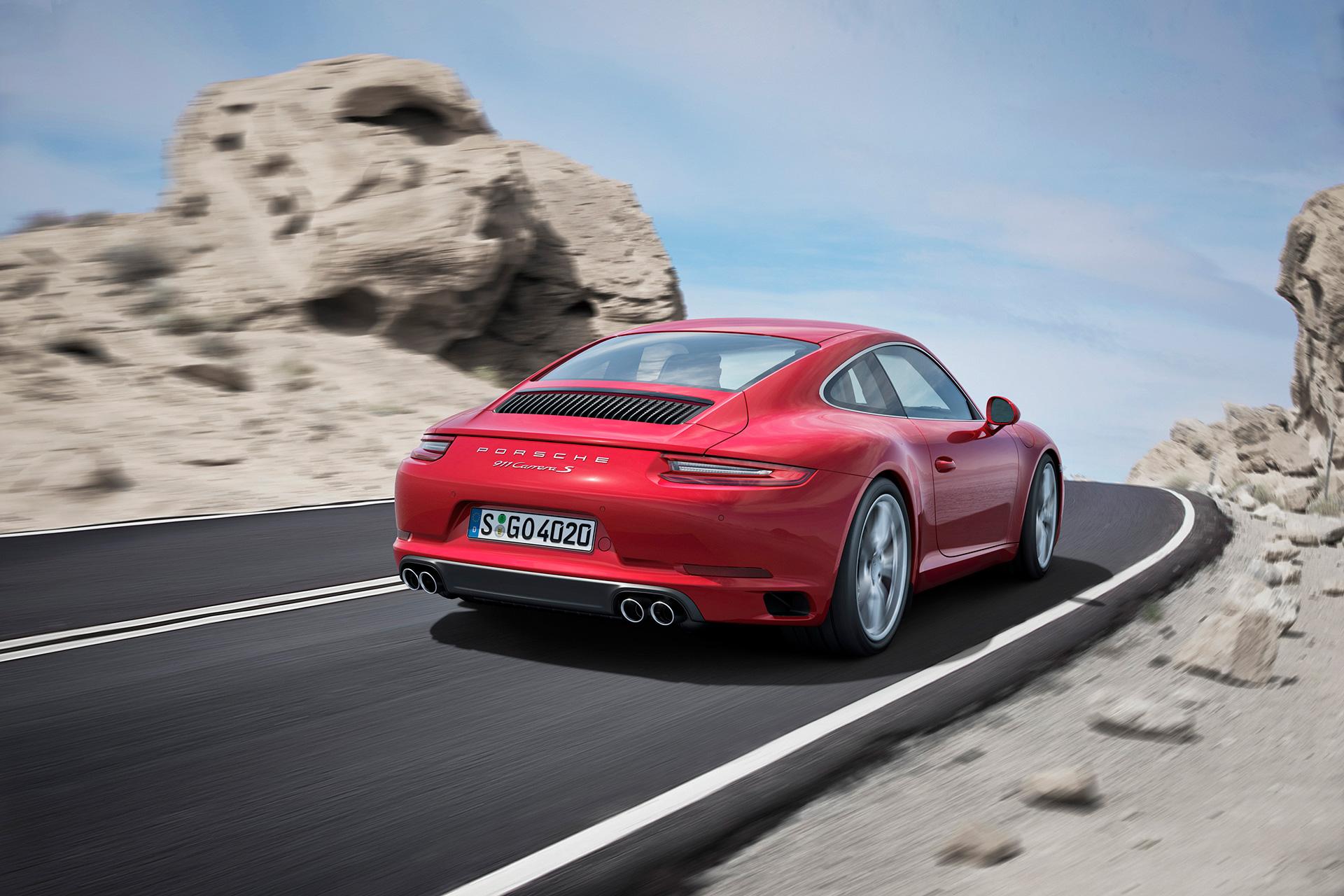 Porsche 911 (Type 991) Carrera S - 2016 - rear / arrière
