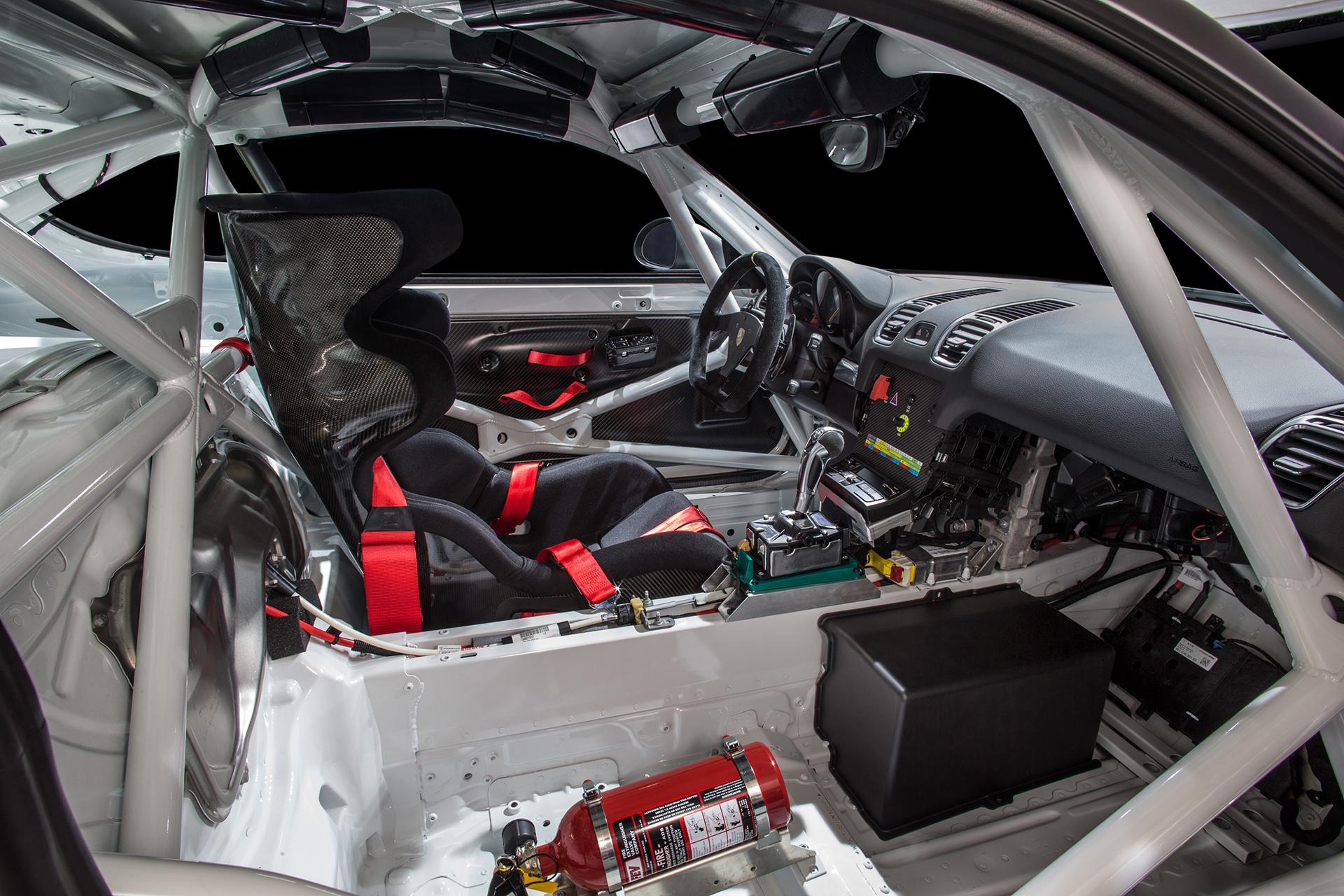 Porsche Cayman GT4 Clubsport - 2015 - intérieur / interior