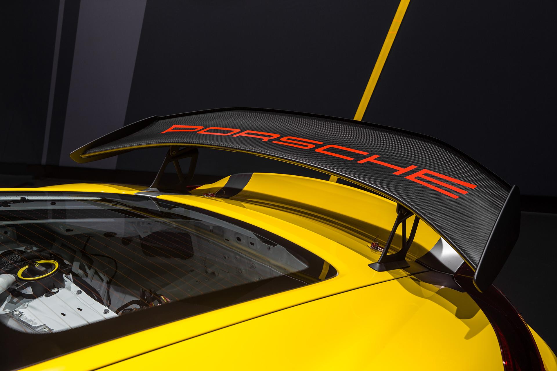 Porsche Cayman GT4 Clubsport - 2015 - aileron arrière / rear wing
