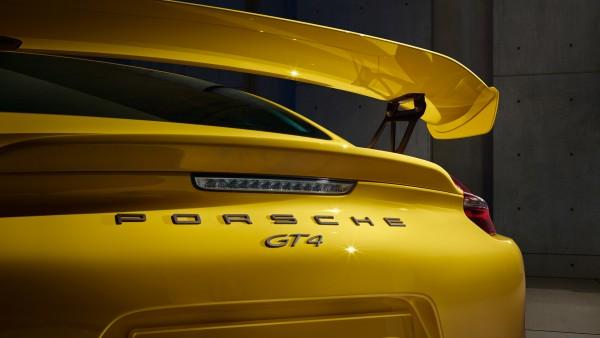Porsche Cayman GT4 - aileron arrière