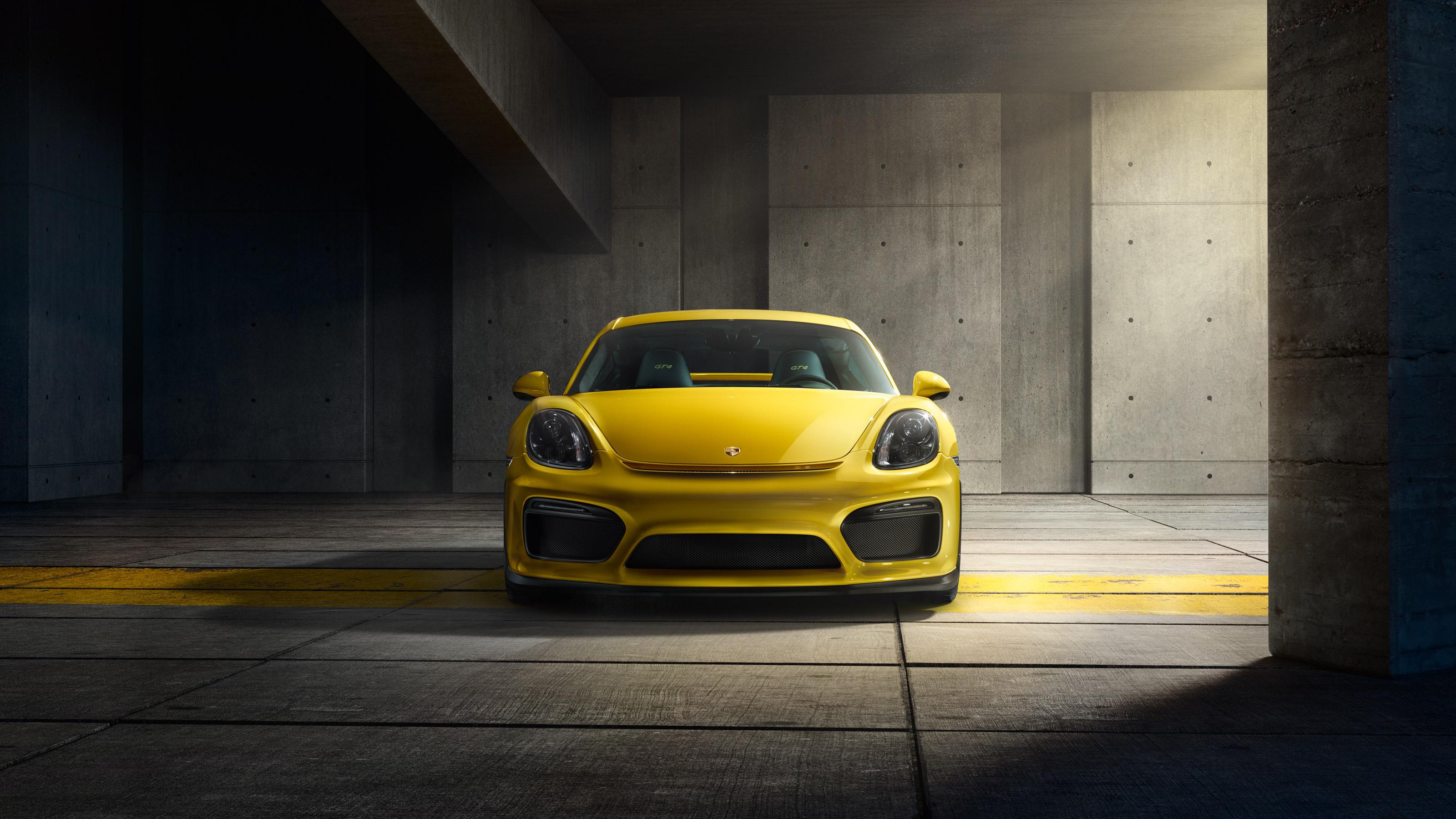 Porsche Cayman GT4 - face avant