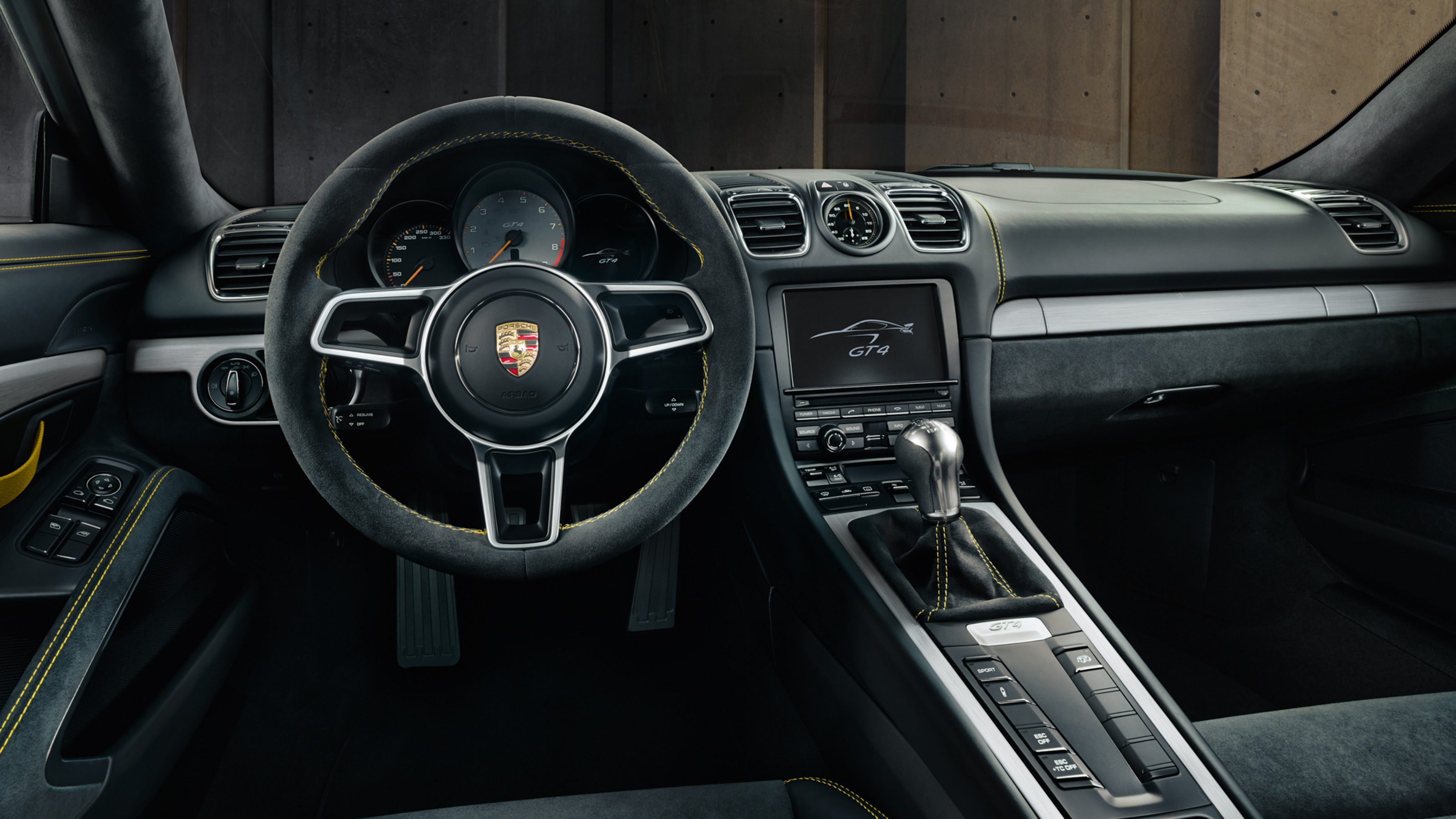 Porsche Cayman GT4 - intérieur
