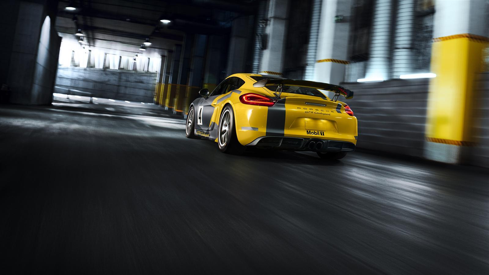 Porsche Cayman GT4 Clubsport - 2015 - arrière / rear
