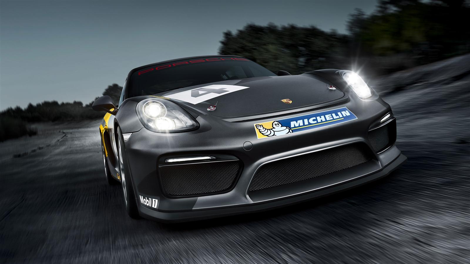 Porsche Cayman GT4 Clubsport - 2015 - avant / front