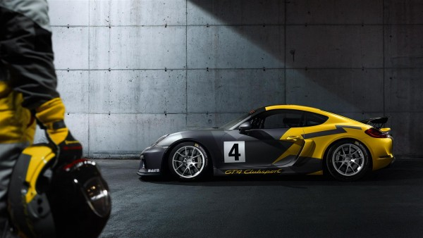 Porsche Cayman GT4 Clubsport - 2015 - profil / side-face