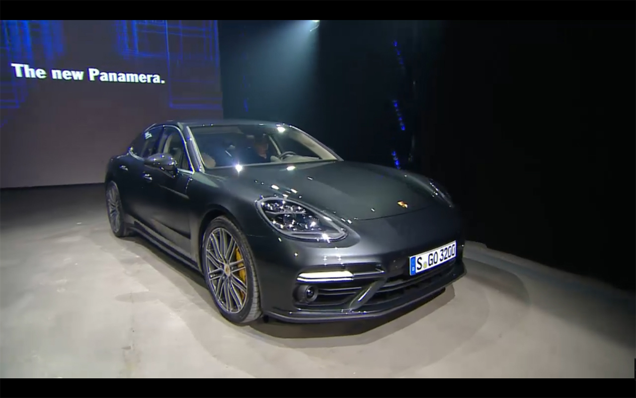 Porsche Panamera - 2016 - front side-face preview
