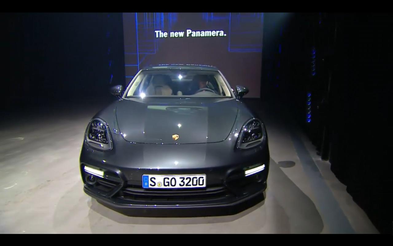 Porsche Panamera - 2016 - front-face preview