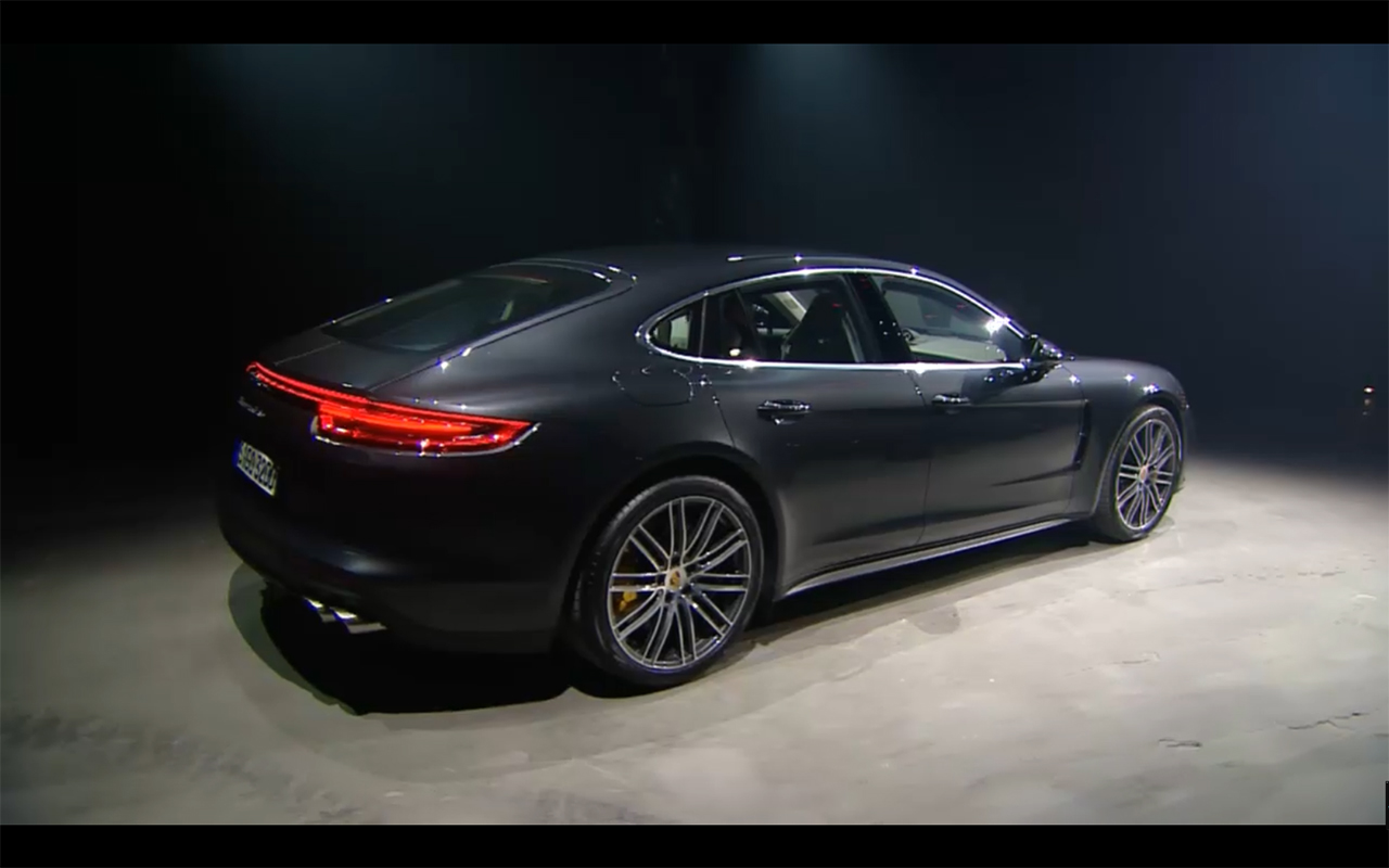 Porsche Panamera - 2016 - rear side-face preview