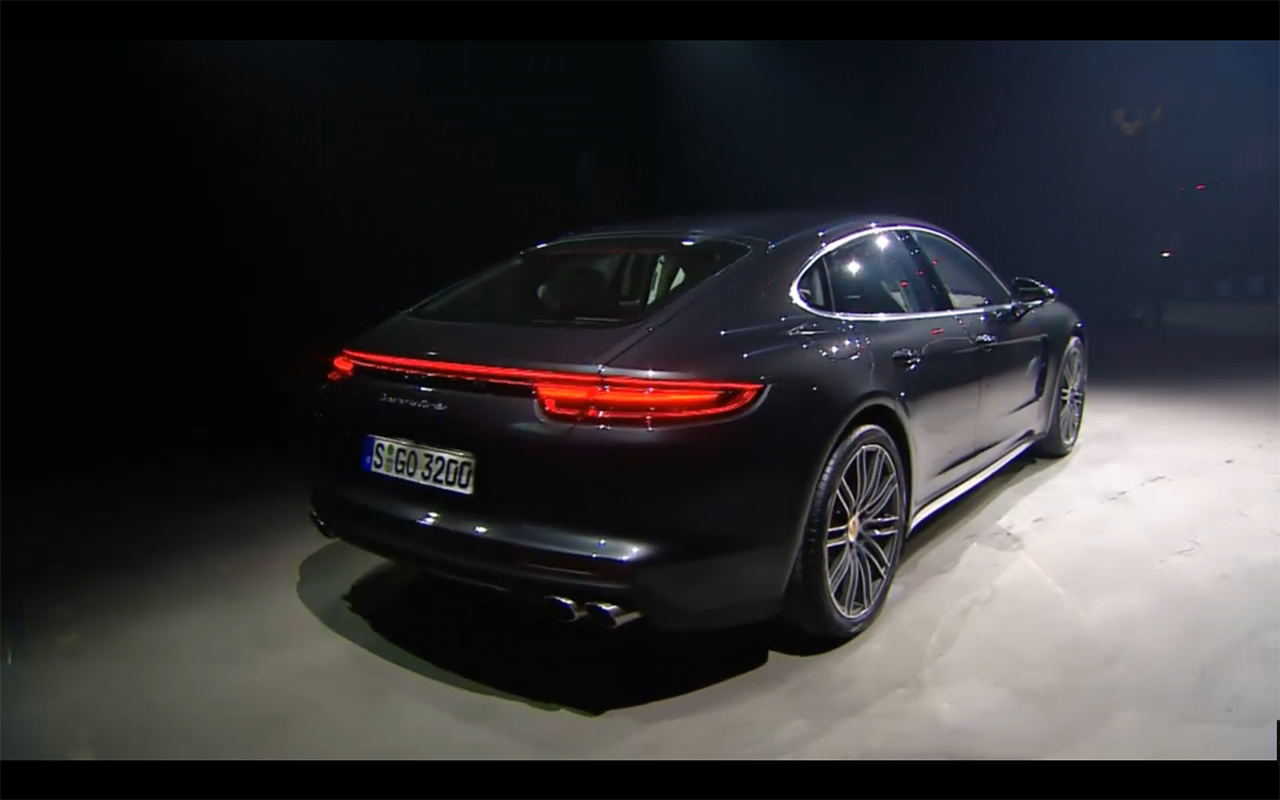 Porsche Panamera - 2016 - rear preview
