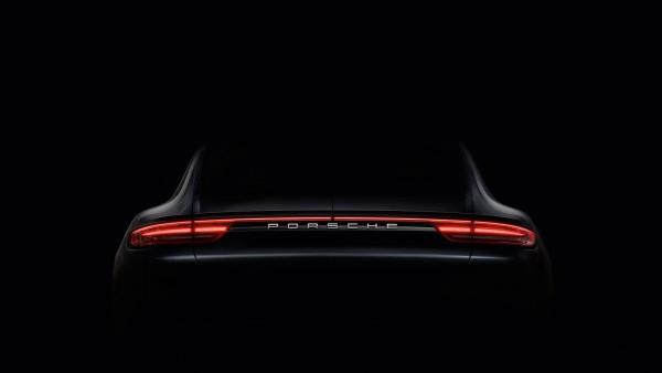 Porsche Panamera - 2016 - teaser