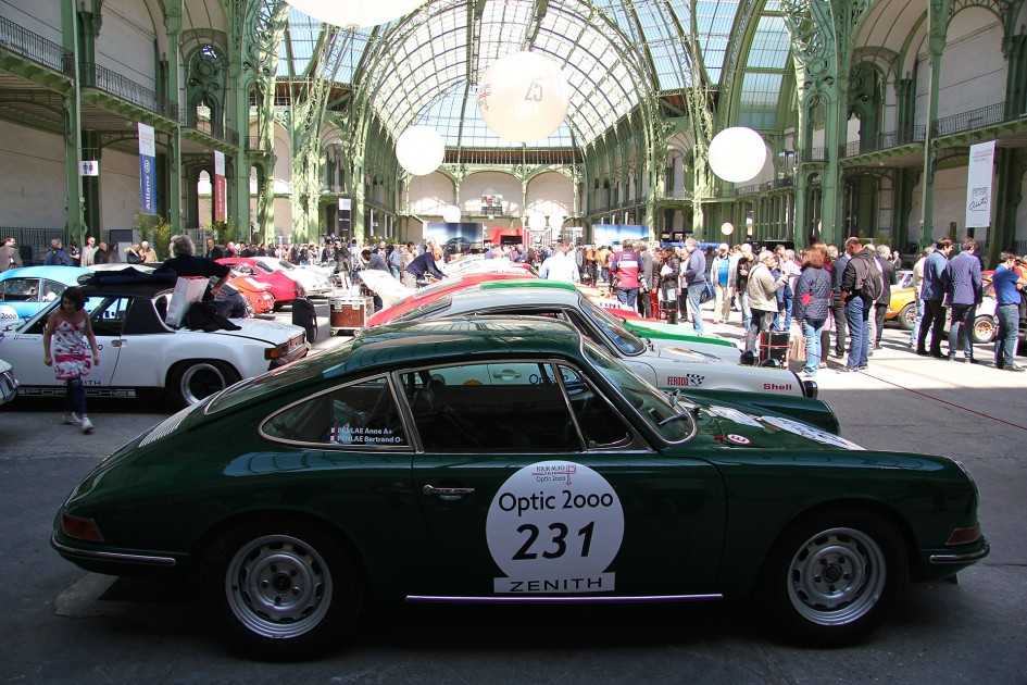 Porsche classic - profil - Tour Auto 2016 - Grand Palais - Ludo Ferrari Photography