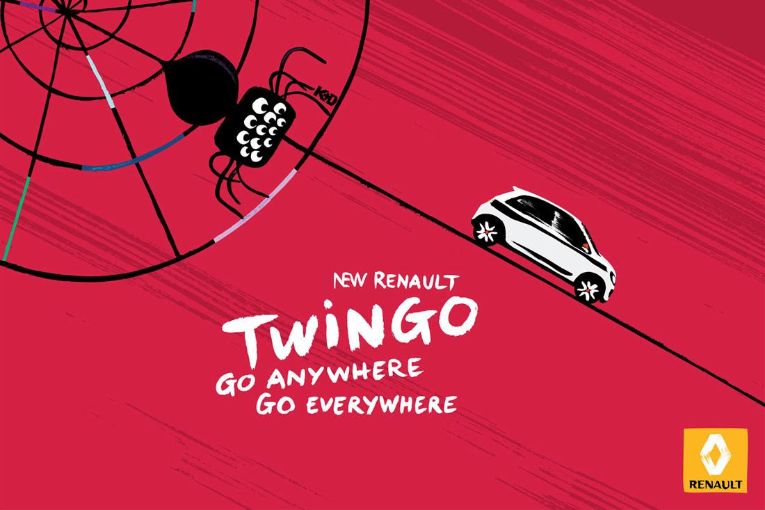 Toile - Nouvelle Renault Twingo - Print - Kuntzel + Deygas