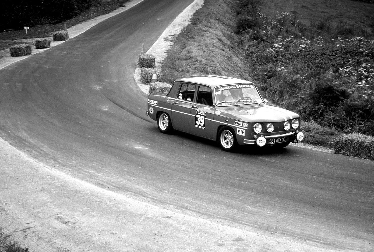 R8 Gordini - Rallyes Véhicules Historiques de Compétition - Photographie : Thierry Le Bras