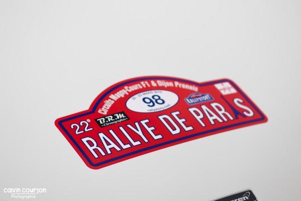 logo - Rallye Paris 2015 - Calvin Courjon Photographie