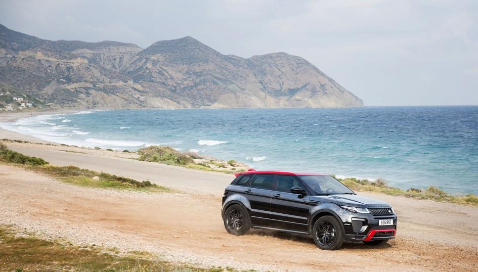 Range Rover Evoque - 2016 - front side-face / profil avant