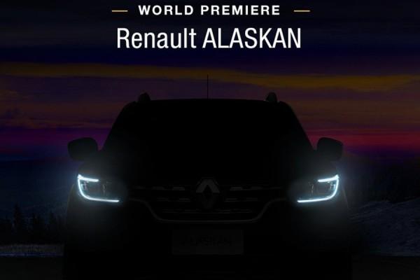 Renault Alaskan - 2016 - teaser