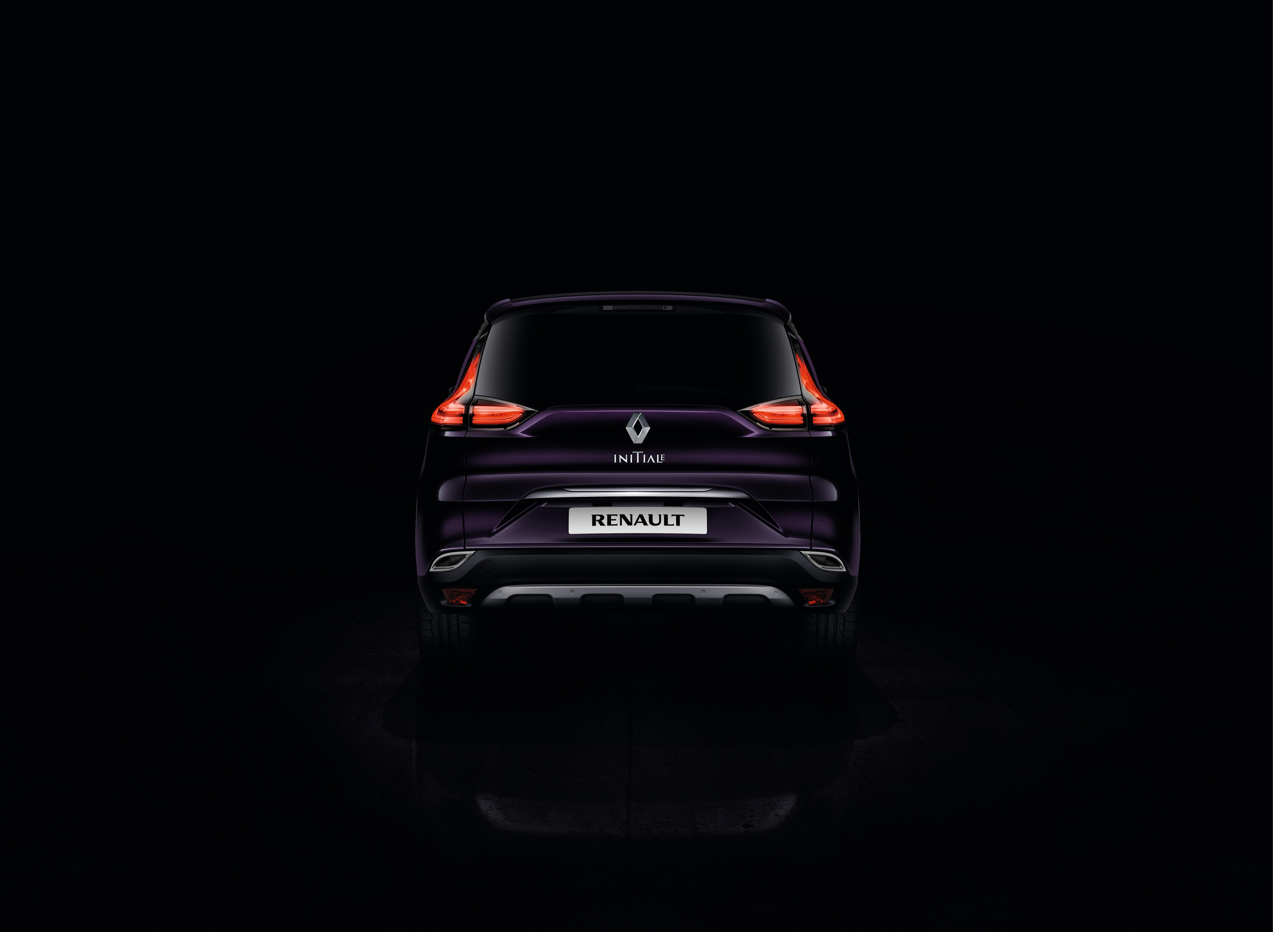Renault Espace 2015 - Initiale Paris - arrière / rear