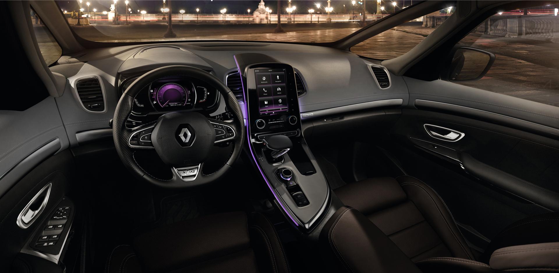 Renault Espace 2015 - Initiale Paris - volant / wheel