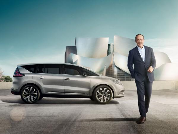 Kevin Spacey et le nouveau Renault Espace