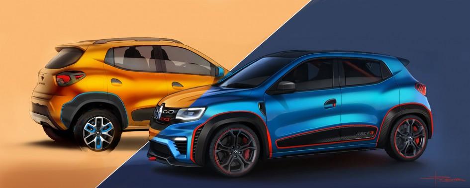 Renault Kwid Climber / Racer - sketch