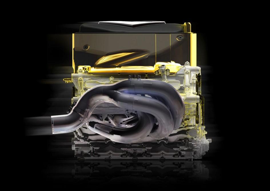 F1 V8 - RS 27 ENGINE - CREDIT : Lionel Schwenke / Keystone Creation