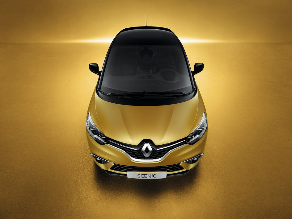 Renault Scenic - 2016 - toit avant / front top