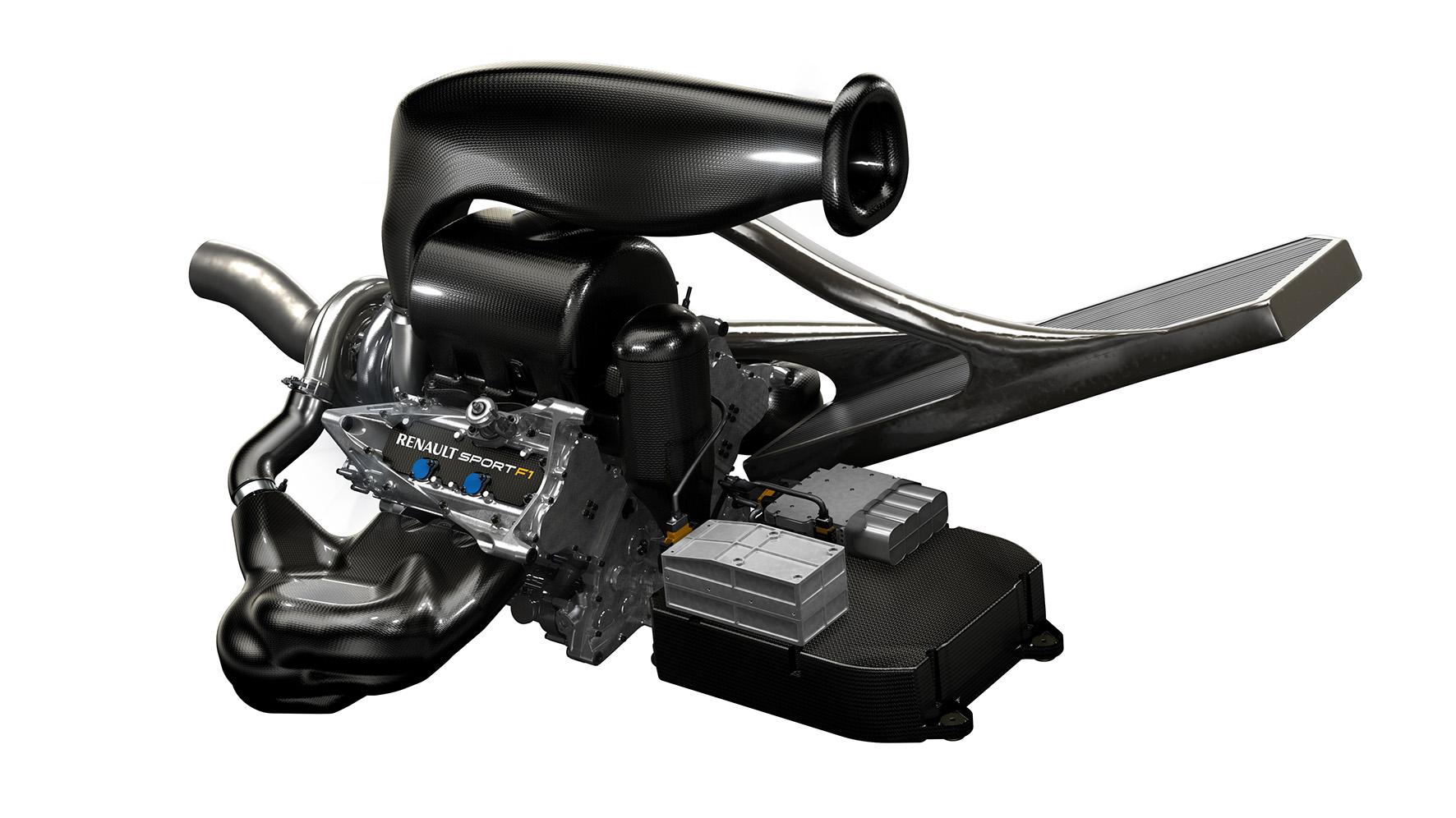 Renault Sport F1 - Power Unit V6 - représentation