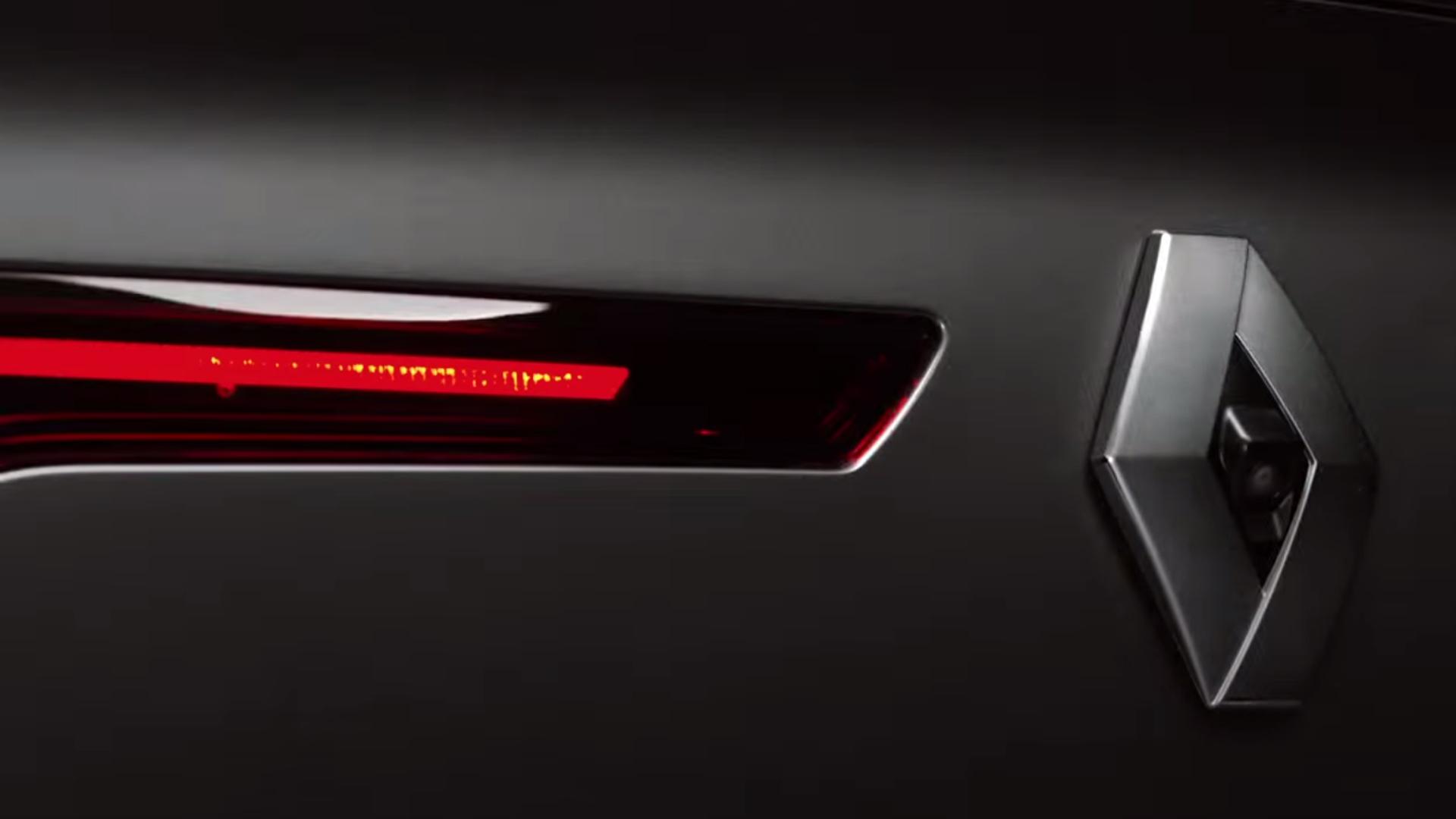 Renault Talisman - 2015 - teaser - arrière / rear