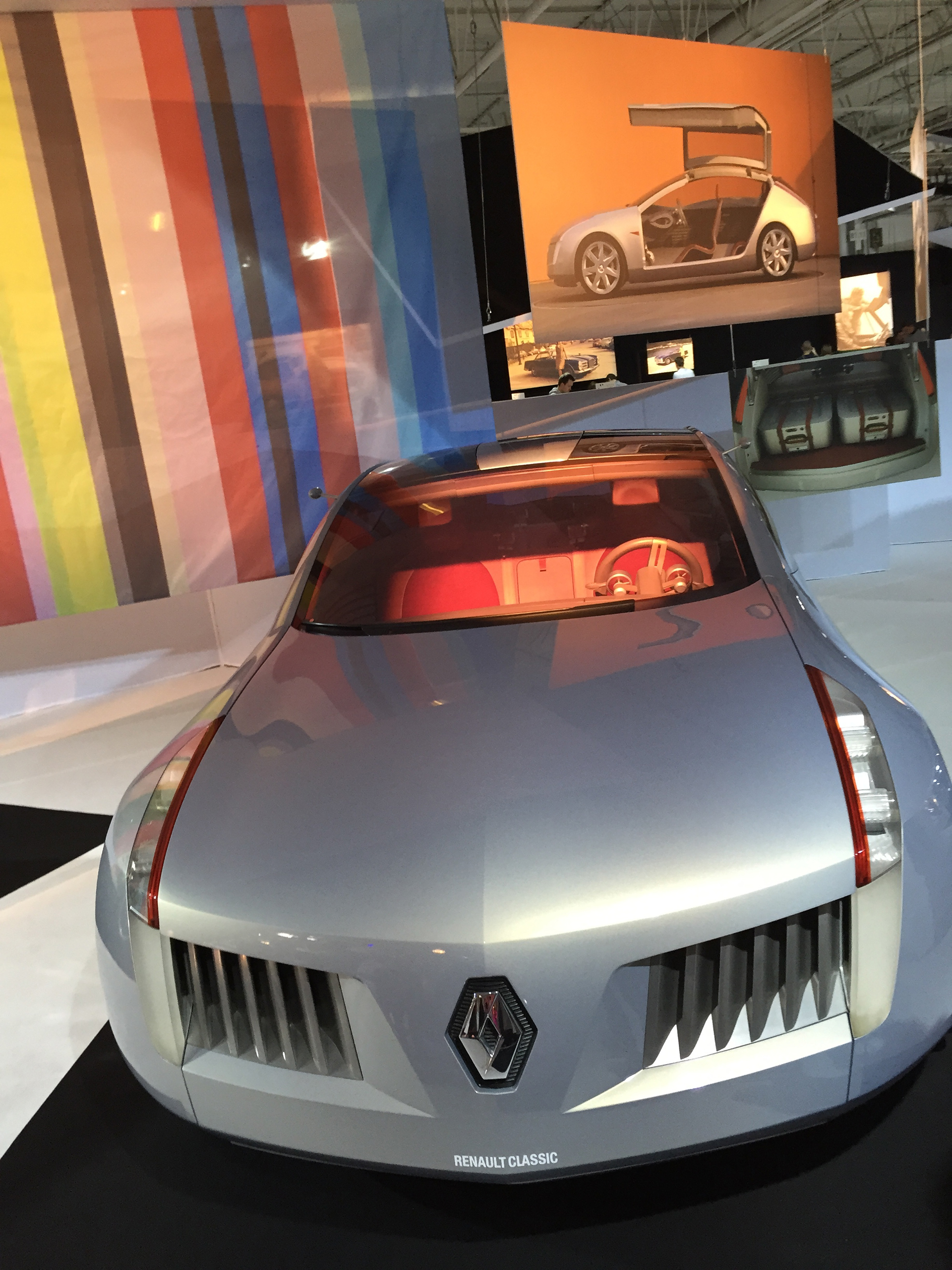 Renault concept Talisman - 2001 - Photo Paris au Mondial de l'Automobile 2014