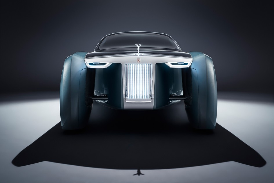 Rolls-Royce VISION NEXT 100 - front-face / face-avant