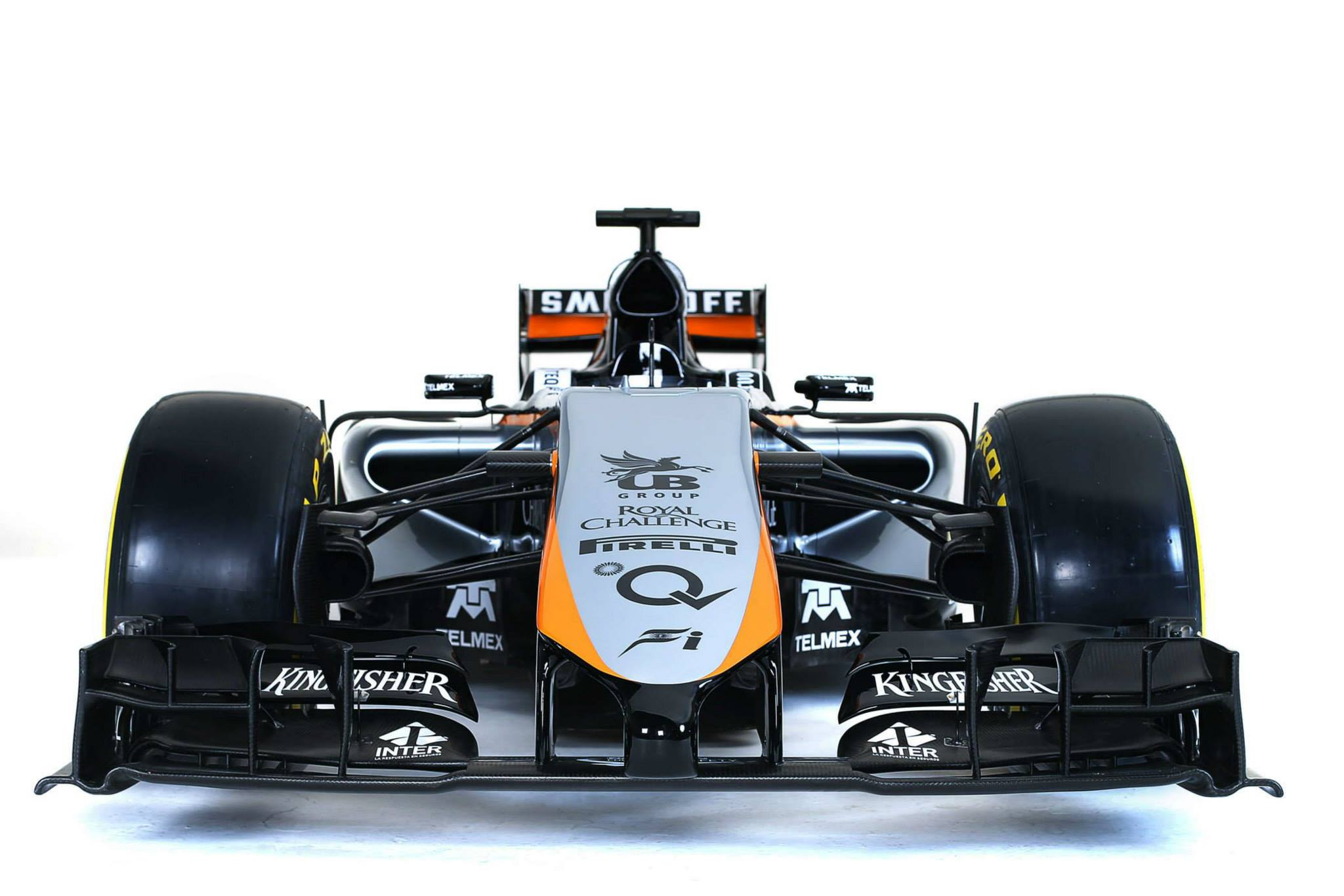 Sahara Force India VJM 08 - face avant