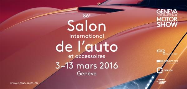 Salon International de l'Automobile et Accessoires de Genève 2016 - poster