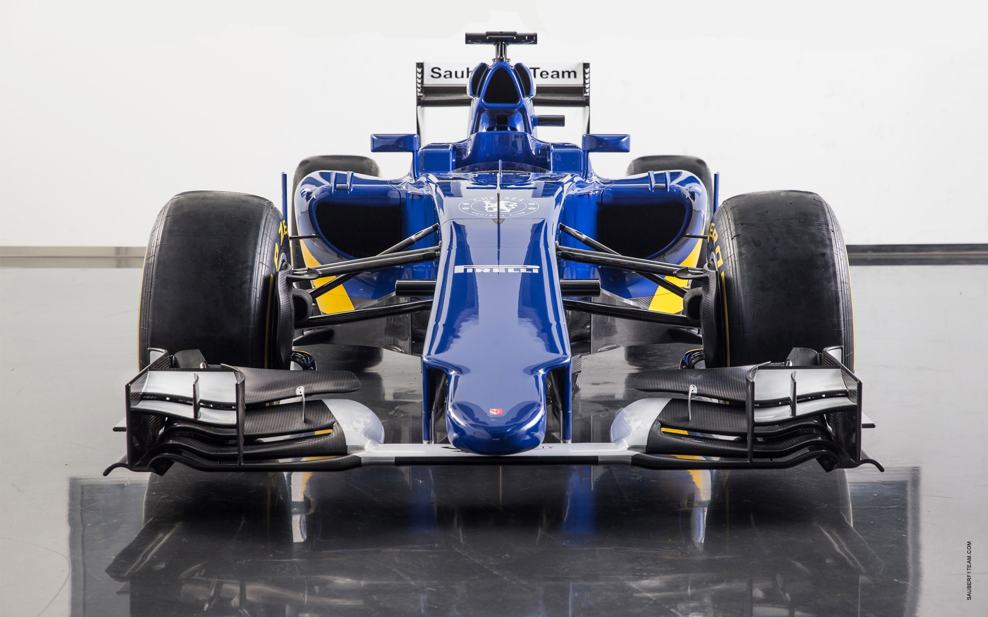 Sauber C34 - face avant